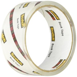 3M スコッチ 透明ブックテープ 厚手 38.1mm×13.7m 845 38|tweedia