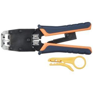 サンワサプライ カシメ工具(ラチエツト付き) HT-500R|tweedia