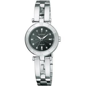 [シチズン]CITIZEN 腕時計 wicca ウィッカ Eco-Drive エコ・ドライブ ハーフバングル  シンプルアジャスト NA15-1571 レディース|tweedia