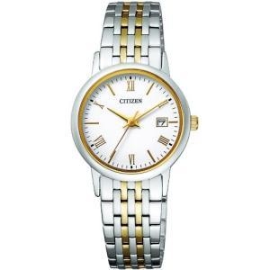 [シチズン]CITIZEN 腕時計 Citizen Collection シチズン コレクション Eco-Drive エコ・ドライブ ペアモデル EW1584-59C レディース|tweedia