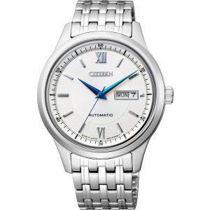 [シチズン]CITIZEN 腕時計 CITIZEN-Collection シチズンコレクション メカニカル ペアモデル(メンズ) NY4050-54A メンズ|tweedia