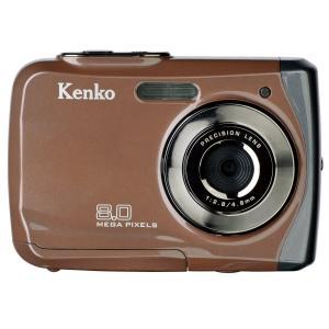 Kenko デジタルカメラ DSC180WP IPX8相当防水 800万画素 乾電池タイプ  862346|tweedia