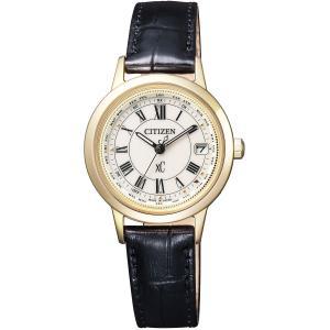 [シチズン]CITIZEN 腕時計 xC クロスシー エコ・ドライブ 電波時計 ティタニアライン ハッピーフライトシリーズ EC1142-05B レディース|tweedia