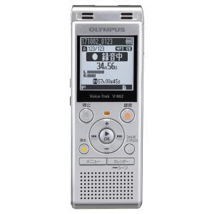 OLYMPUS Voice Trek ICレコーダー シルバー V-862 SLV|tweedia