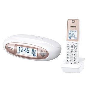 パナソニック デジタルコードレス電話機 子機1台付き(パールホワイト) VE-GZX11DL-W|tweedia