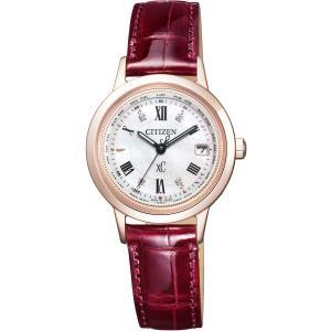 [シチズン]CITIZEN 腕時計 xC クロスシー エコ・ドライブ 電波時計 ティタニアライン サクラピンク EC1144-00W レディース|tweedia
