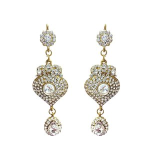 CROWN JEWEL Indian Bollywood Style Fashion Gold Plated Bridal Jewelry|twilight-shop