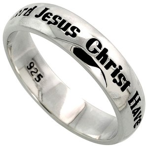 Sterling Silver LORD JESUS CHRIST HAVE MERCY ON ME...