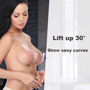 Women Breast Petals Lift Nipplecovers Strapless Backless Bra Adhesive|twilight-shop