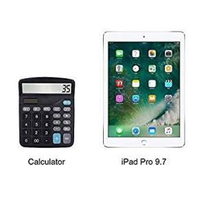 Calculator, 2-Pack 12-Digit Solar Battery Basic Calculator, Solar Batt twilight-shop