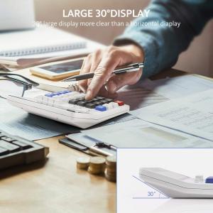 Calculator, ONXE Standard Function Scientific Electronics Desktop Calc twilight-shop