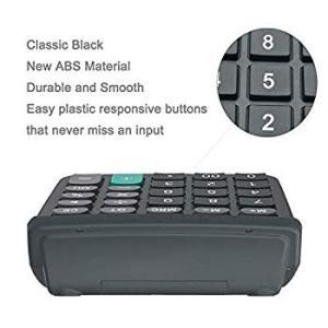 Calculator, BESTWYA Dual Power Handheld Desk Calculator with 12 Digit twilight-shop