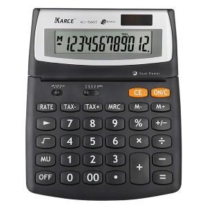 KARCE KC-560T-12, 12-Digits Large Desktop Tax Calculator, Black twilight-shop