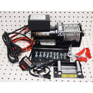 Electric 12V 3000LB Cable Winch Kit|twilight-shop
