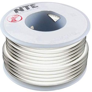 Hook UP Wire 300V Stranded Type 20GAUGEWHITE 100 FEET, Pack of 2|twilight-shop