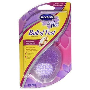 Dr. Scholl's For Her Ball Of Foot Cushions For All Types Of Shoes 1 Pair (並|twilight-shop