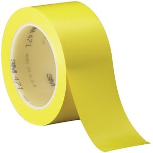 3M 471 Solid Vinyl Masking Tape, 170 Degree F Performance Temperature, 14 l|twilight-shop