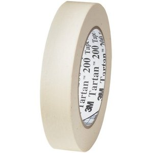 3M Scotch 233 Crepe Paper Masking Tape, 200 Degree F Performance Temperatur|twilight-shop
