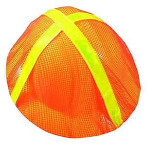 Occunomix V896-FBO High Visibility Full Brim Hard Hat Cover, Orange (Pack o|twilight-shop