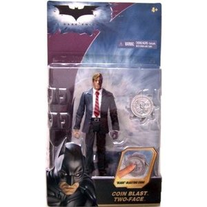 The Dark Knight Basic > Coin Blast Two-Face Action Figure|twilight-shop
