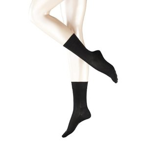 Falke レディース 敏感肌用 マラガ シルケット加工 コットン靴下 US サイズ: 39-42 ...