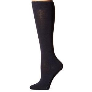 FalkeレディースファミリコットンKnee High Socks カラー: ブルー