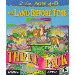 The Land Before Time 3-Pack (Activity Center, Kindergarten Adventure, Math|twilight-shop