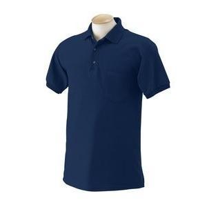 gildan-sportシャツwithポケットニット50?/ 50?Blend ~海軍ブルー~ ad...