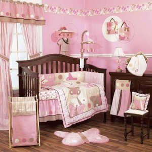 CoCaLo Baby Zoey Six Piece Crib Bedding Set :お届け予定...
