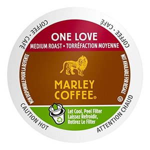 Marley Coffee, One Love, 100% Organic Ethiopia Yirgacheffe, Medium Roast, 2|twilight-shop
