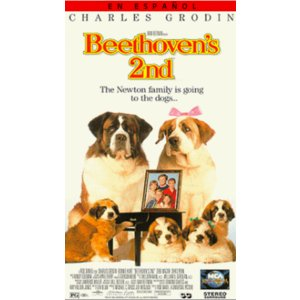Beethoven's 2nd [VHS] [Import]