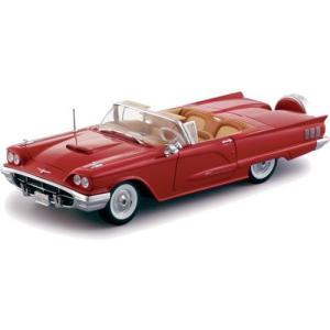 1/18 1960年フォード サンダーバード オープン レッド 4311 twilight-shop
