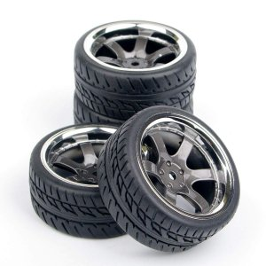 FidgetGear RCホイール&タイヤセット タミヤ tt01 tt02 tt01e m06 m...