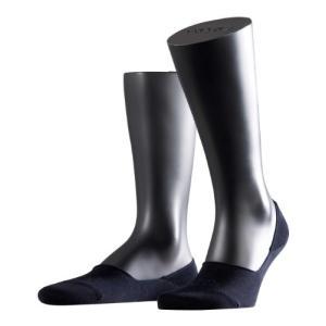 FalkeステップコットンメンズInvisible Socks カラー: ブルー