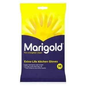 Marigolds Extra Life kitchen Glove Medium 1 x 3 pairs|twilight-shop
