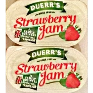 48 Duerr's Strawberry Jam - Individual Portions|twilight-shop