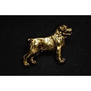 ロットワイラー, 金製品の品位999, 黄金のピン, アート・ドッグ, Rottweiler, millesimal fineness 999, go