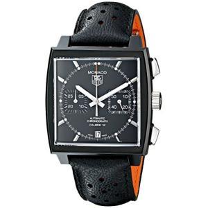 Tag Heuerメンズcaw211?m。fc6324?Analog Display Automatic Self Wind Black Watch|twilight-shop