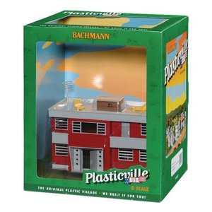 Bachmann Plasticville Apartment Building Scale O 1...