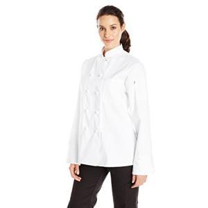 Uncommon Threads 0490-2506 Sedona Chef Coat in Whi...