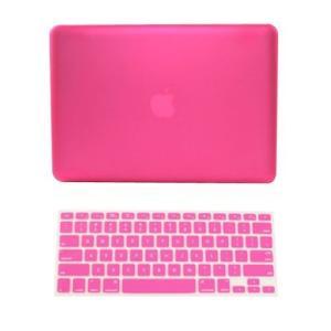 Macbook Airケース/カバーwithキーボード、ハードカバー保護???ホットピンク、科学によ...