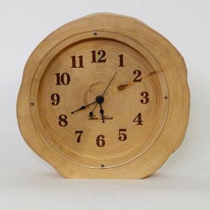 木製 電波時計 ホソバ 年輪 置時計 No.1083|twinheartspro