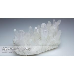 パワーストーンの浄化に最適!クラスターはブレスの浄化だけでなく空間浄化の力もあると言われています 商品名 「水晶クラスター 189g」|twinkle-box