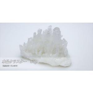 パワーストーンの浄化に最適!クラスターはブレスの浄化だけでなく空間浄化の力もあると言われています 商品名 「水晶クラスター 55g」|twinkle-box