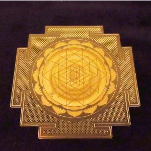 電磁スペクトルを表す幾何学模様のパワーで瞑想、浄化など様々なヒーリングをサポート エナジーカード「ヤントラ(繁栄)」|twinkle-box