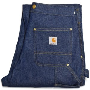 【SALE】 CARHARTT B07 RIGID DENIM DOUBLE KNEE LOGGER PANTS カーハート ダブル二― デニムロガーパンツ