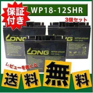 レビューを書いて★送料無料★【3個セット】UPS・溶接機・電動カート・セニアカー各種 (12V18Ah)WP18-12SHR バッテリー [スズキッド溶接機]|twintrade