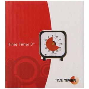 タイムタイマー(アラーム付き)。自閉症のお子様や時計の読めない方に、「後、どれくらい」がわかる大変便...
