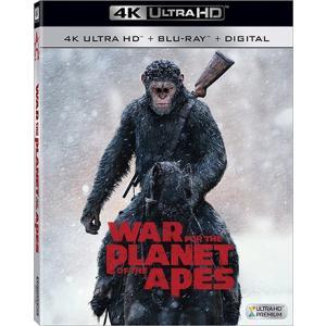 猿の惑星:聖戦記 グレート・ウォー 4K ULTRA HD + Blu-ray two-r