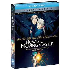 送料無料 ハウルの動く城 宮崎駿 ジブリの名作 お得なブルーレイ BD&DVD コンボボックス 北米版|two-r